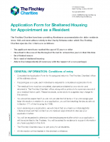 Application for Sheltered Housing_2018