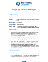 Property Services Manager JD PS